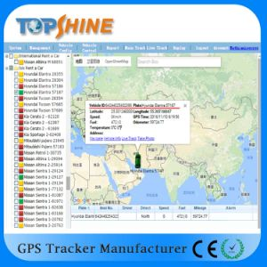 Topshine Online Web-Based GPS Tracking Software (GPRS01) for Fleet Management pictures & photos