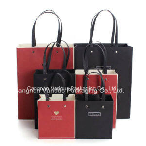 Custom Designed Kraft Paper Bag for Gift, clothes Bag pictures & photos
