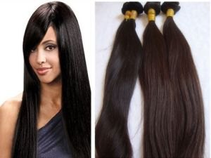 Virgin Remy Human Hair Weft/Hair Weaves pictures & photos