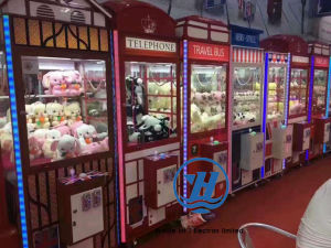 Coin Operated Gift Prize Claw Crane Vending Machine (ZJ-CG03) pictures & photos
