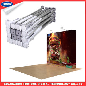 Promotion Display Stand Print Straight Fabric Pop up pictures & photos