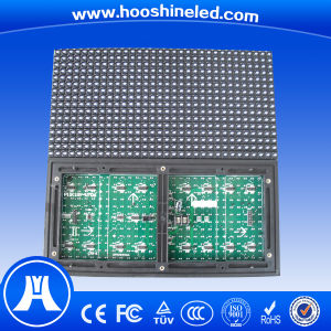 Easy to Install P10 DIP546 White Color LED Display Board pictures & photos