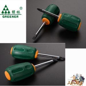 Chrome Plated Color Handle Screwdriver pictures & photos
