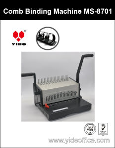 A4 Base Heavy Duty Aluminium Comb Binding Machine (MS8701) pictures & photos