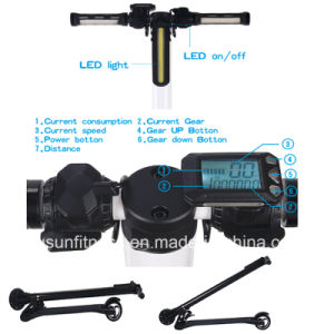 Cheap Smart 5inch Balance Scooter with Display pictures & photos
