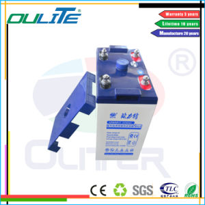 Trade Assurance Free Maintenance 2V 600ah Lead Acid Battery for Solar System pictures & photos