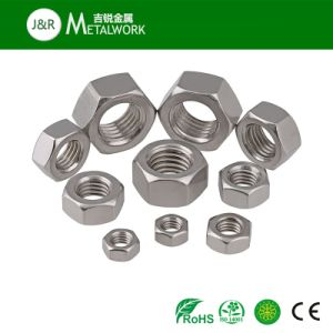 A2-70 A4-70 A4-80 Ss304 Ss316 316L Stainless Steel Hexagon / Hex Nut DIN934 pictures & photos