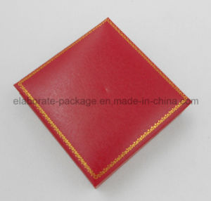 Red Plastic Jewelry Packing Package Gift Box pictures & photos