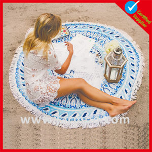 Custom Printed Promotion Cotton Beach Towel pictures & photos