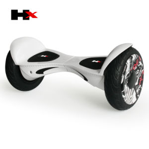 Hx Scooter 10.5inch Big Wheel Hoverboard with Double LED Light