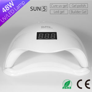 Ce Certificate Fastest Dry All Gels Sun5 Light Uvled Nail Lamp 48W pictures & photos