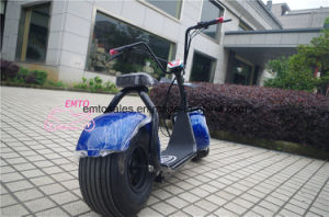 City Mobility Citycoco 1000W Brushless Adult Electric Scooter 2 Wheels Electric Motorcycle pictures & photos
