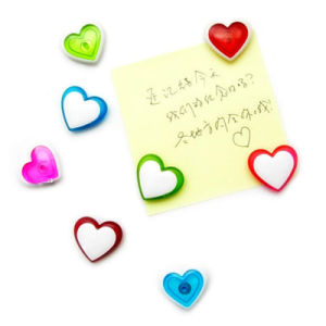 Heart-Shaped Refrigerator Magnet for Birthday′s Gifts pictures & photos