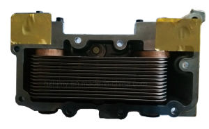 65.05601-7100, 65.05601-7151 Oil Cooler Ass′y Assembly for DV11, De08tis Diesel Engine of Doosan Daewoo pictures & photos