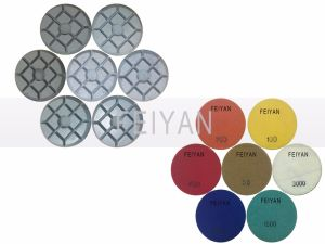 Diamond Surface Dry Polishing Pad for Concrete Floor pictures & photos