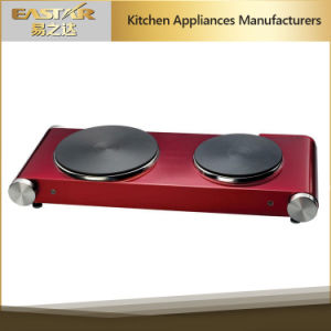 Ce A13 Classic Design High Quality Double Burner Electric Stove pictures & photos