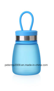 Plastic Water Bottle with Handle, Pink Sport Water Bottle pictures & photos