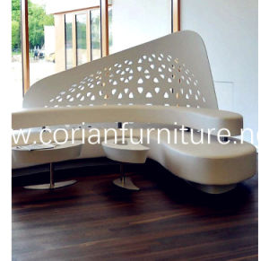 Acrylic Solid Surface Waiting Bench pictures & photos