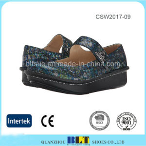 New Design PU Midsole Alegria Clogs Loafer Women Shoes pictures & photos