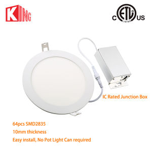 Round LED 8W Panel Downlight 4 Inch Light Panel