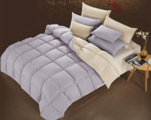 400 Tc Matching Color White Goose Down Comforter Quilts Duvet pictures & photos
