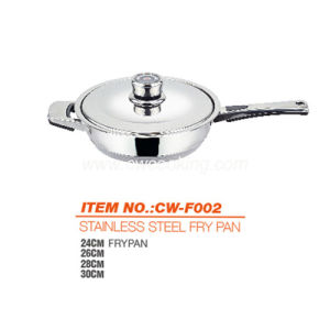 Stainless Steel Frypan with Thermometer Knob pictures & photos