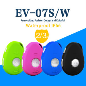 GPS Tracking System Mini Personal GPS Tracker EV-07s Sos Button GPS Locator pictures & photos