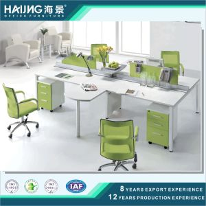 Four Seats Ergonomic Professional Useful Office Computer Workstation pictures & photos