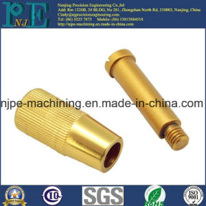 Top Quality Brass Custom Machining Knurled Female Pipe Fittings pictures & photos
