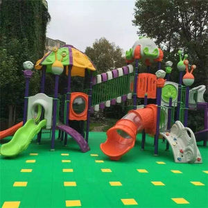 Kids Plastic Slide Amusement Park Playground (YL24487) pictures & photos