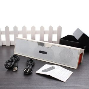 Mini Portable HiFi Bluetooth Stereo Audio Speaker with FM Radio + Alarm Clock, 2000mAh Powerbank Speaker pictures & photos