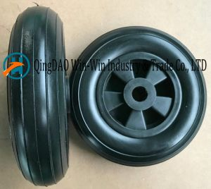 Flat-Free PU Wheel for Castor Wheel (200*50) pictures & photos