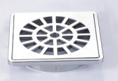 Chrome ABS Plastic Floor Drain pictures & photos
