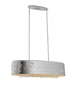 Decoritave Oval LED Pendant Light with Crystal pictures & photos