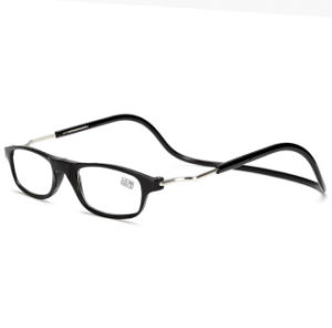 Adjustable Soft Hanging Neck Presbyopic Reading Glasses pictures & photos
