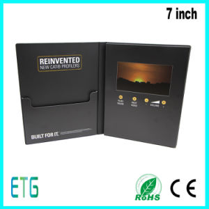 LCD Video Booklet with 7inch Screen pictures & photos