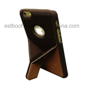iPhone 7/7plus Leather Mobile Phone Case with Folding Function pictures & photos