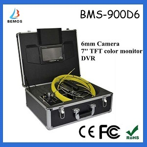 Small Camera Size Sewer Camera with DVR 7inch TFT Color Monitor pictures & photos