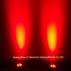 5PCS LED Battery PAR Light 12W RGBW 4in1 for Party Club Concert pictures & photos