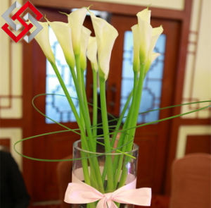 Artificial PE Flower Calla Lily, Pure Hand-Make Wedding Artificial Flower