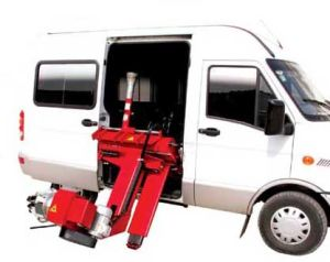 Mobile Truck Tire Changer (AA-MTTC26S) pictures & photos