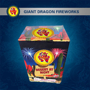 7 Shot Desert at Night Combination Fireworks Gdl930 pictures & photos