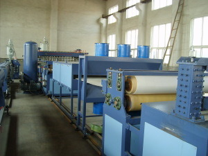 Plastic Machinery PP Hollow Profile Board Production Line pictures & photos