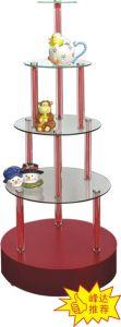 Glass Round Stand (FD-B014)