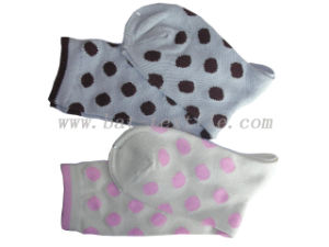 Lady Plain Cotton Socks pictures & photos