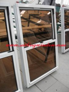 Aluminium Window- Double Hung Window pictures & photos
