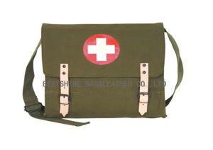 Olive-Red Cross Medic Shoulder Bag (B466NL)