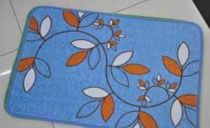 Cotton Printed Anti-Slip Door Mat/Rugs #6, Super Water Absorbing pictures & photos