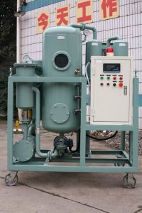 Easily Moving Turbine Oil Refine Machinery for Removing Gas, Water, Impurities From Used Oil