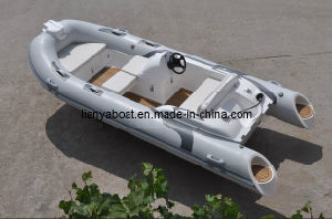 China Liya 14 Feet Hypalon Rigid Inflatable Boat for Sale pictures & photos